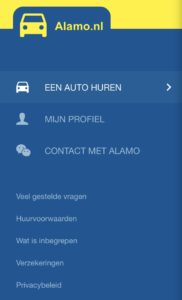 menu app