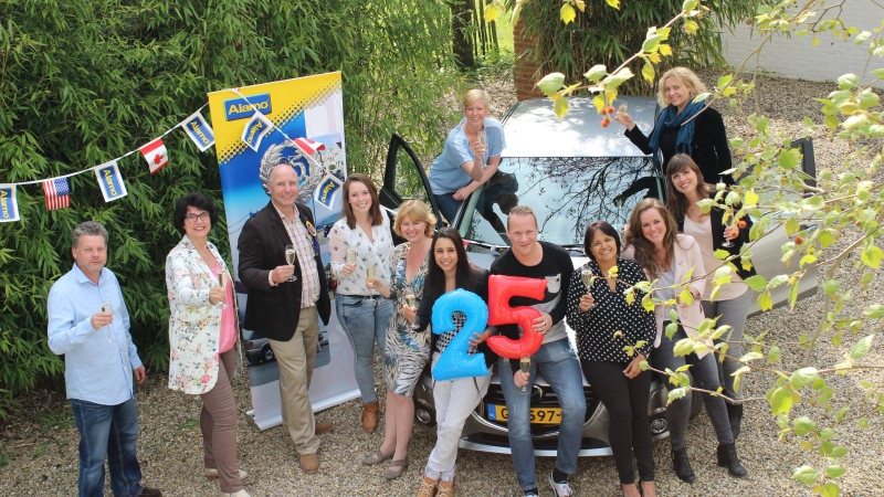 Alamo rent a car 25 jaar in Nederland