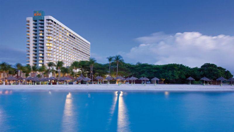 auto huren Aruba Hotel Riu Palace Antillas