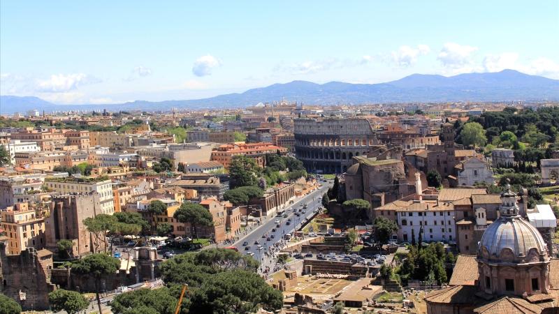 Auto huren op Rome Railway Station