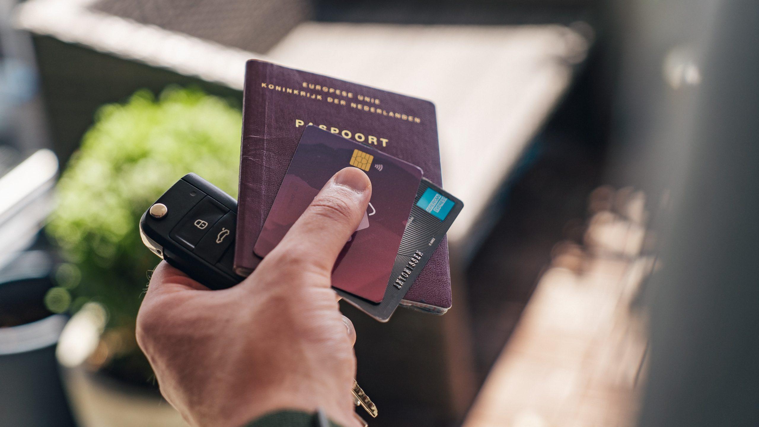 Creditcard op hoofdbestuurder
