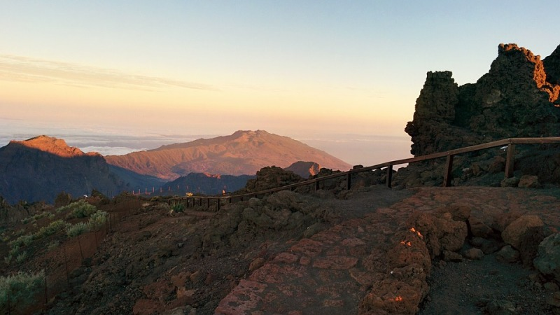 Uitzicht in La Palma