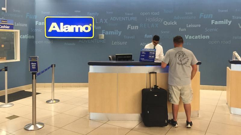 The Alamo Rental Agreement