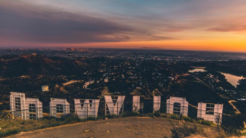 Bezoek Hollywood met een huurauto