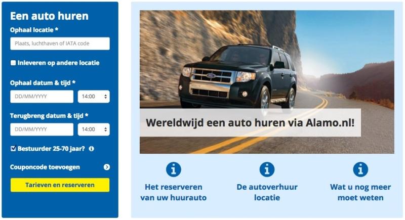 nieuwe website alamo
