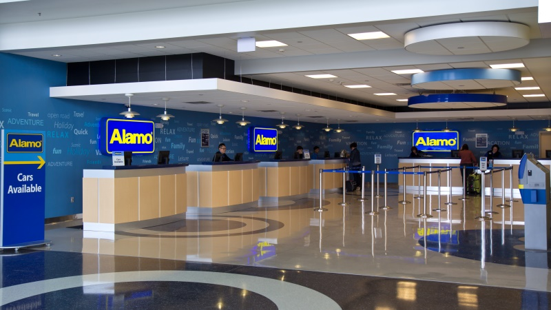 Alamo Car Rental Calgary Airport
