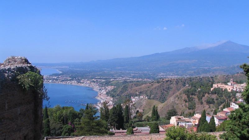oostkust van sicilië