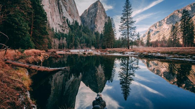 Yosemite National Park met een huurauto